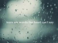tears poetry
